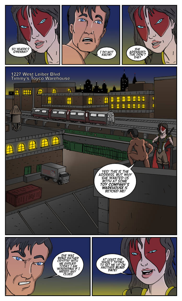 Comic Fury Blind Date Exchange by jay042