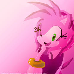 One Hour Amy Rose by VioletChiko