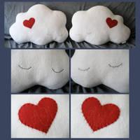 Sleepy Cloud Couple by melkatsa