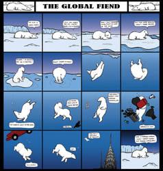 The Global Fiend by melkatsa