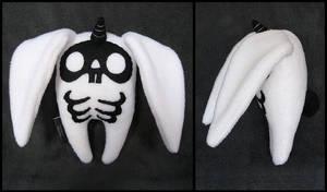 White Skele-bunicorn by melkatsa
