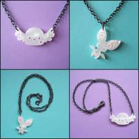 Sugar Posse Necklaces by melkatsa