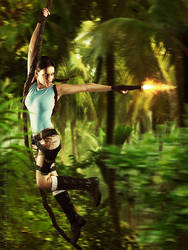 Lara Croft - Tomb Raider by messtor