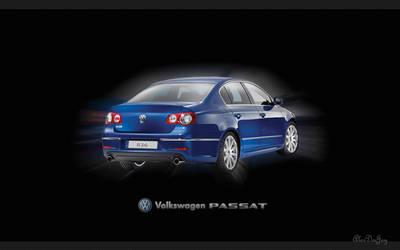 VW Passat R36 wide by AlexDeeJay