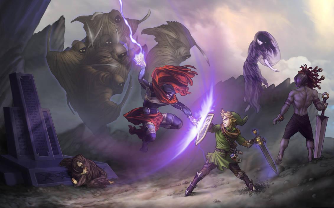 The Legend of Zelda: Shadow of Katirok - End Duel by Irontree