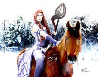 Snow Queen by Tahlavain