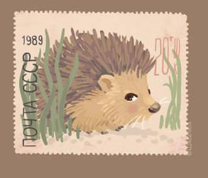 hedgehog by Shmyrina