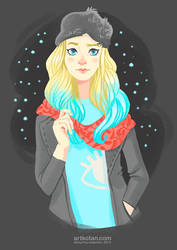 bluehead girl by Shmyrina