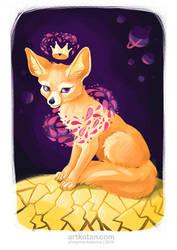 Magic fox by Shmyrina