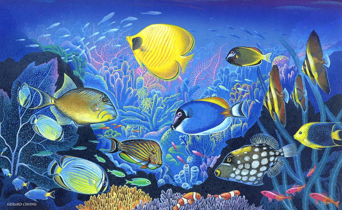 Under The Sea by Amazina