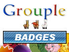 Grouple Badges by pantheon9000