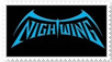 Nightwing stamp by pantheon9000