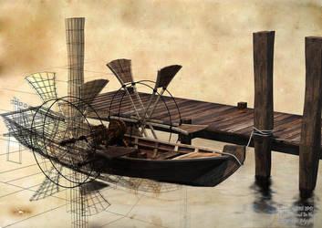 Bateau-aubes-1920 by semiosdekharna