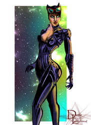 Catwoman by dleadabrand