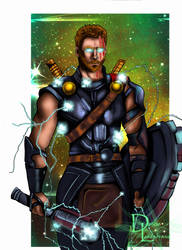 God Of Thunder by dleadabrand