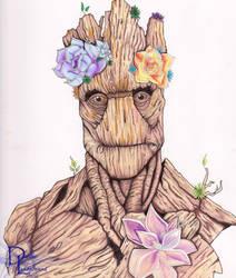 Groot  by dleadabrand