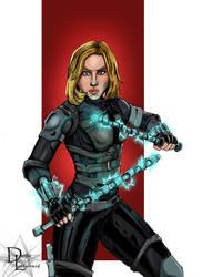 Black Widow version 1 by dleadabrand