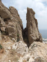 Cleft Rock by fuguestock