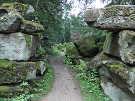 Rock Formation 09: Pathway by fuguestock
