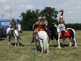 Roman Cavalry 8 by fuguestock