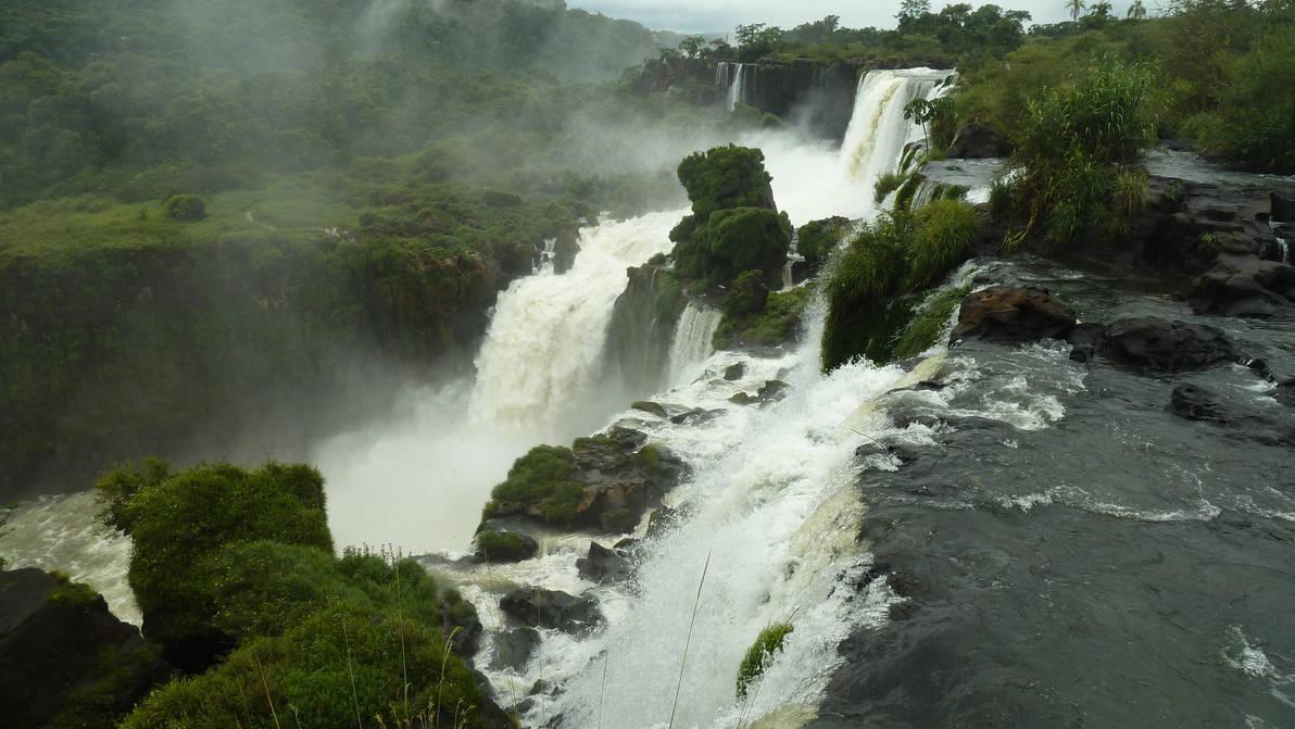 Jungle Falls 6 by fuguestock