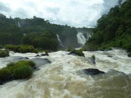 Jungle Falls 3 by fuguestock