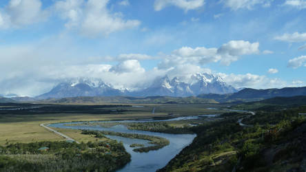 Patagonian River 02 by fuguestock