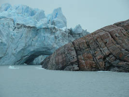 Ice Arch 4 - Meets Rock Up Close by fuguestock