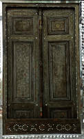Persian Architecture 03 - Ornate Wooden Door by fuguestock