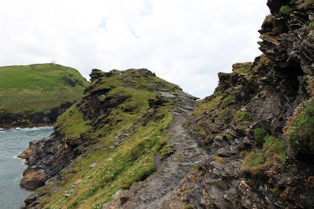 Rugged Coastline 04 - Path by fuguestock