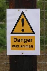 Danger: Wild Animals by fuguestock