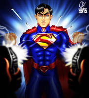 Superman by Cahnartist