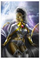 Goddess Storm by Cahnartist