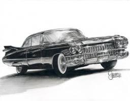 Cadillac Deville 1959 by JeSSanchez