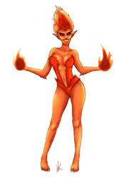 Fire Elemental by masterslacker