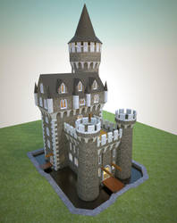 Castle Keystone by shad-brooks