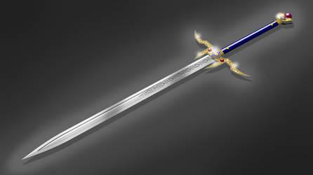 Regalium (fancy fantasy sword) by shad-brooks