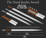Vered Jericho Sword of Ancient Israel, 600BC STEEL by shad-brooks