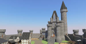 HONORGUARD, The Castle of Morane by shad-brooks