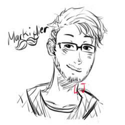 Markiplier sketch by LyricalJelly