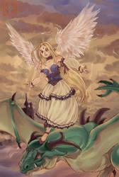 Felicia the Dragon girl by ShinRyuShou