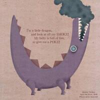 a little dragon by vicioussuspicious