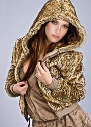 fur coat casual kristen stewart by freakybaby1