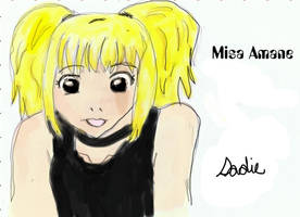 Misa Amane Coloured by dawnleapord