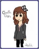 Cherrim-Chan Coloured by dawnleapord