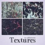 Abstract Dark Textures by quillofphoenix
