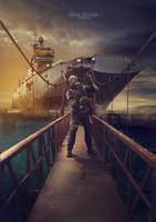marine by shitenk
