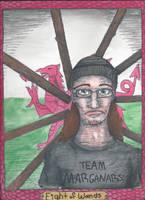 TGWTG Tarot: Welshy - Eight of Wands by IndytheOdd