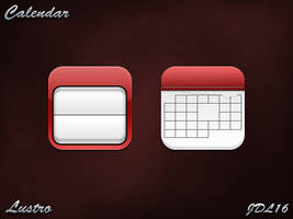 Calendar for iPhone 4 by JDL16