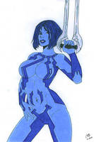 Cortana - HALO by Slayer730